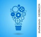 modern technology concept  ... | Shutterstock .eps vector #182886224