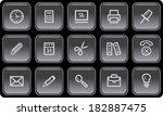 office button set | Shutterstock .eps vector #182887475