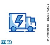 fast delivery sign icon in...