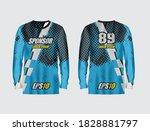sport jersey abstract...   Shutterstock .eps vector #1828881797