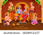 Illustration Of Lord Ram  Sita  ...