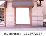 shop boutique store front with... | Shutterstock . vector #1828972187
