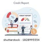 loan manager concept. bank...   Shutterstock .eps vector #1828995554