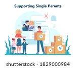 social volunteer. charity... | Shutterstock .eps vector #1829000984