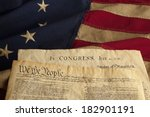 we the people are the opening... | Shutterstock . vector #182901191