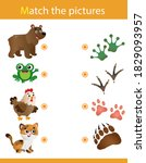 matching game  education game... | Shutterstock .eps vector #1829093957