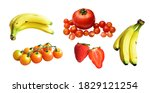 Healthy fruits with clipping...