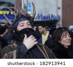 new york city   march 20 2014 ... | Shutterstock . vector #182913941