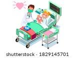 doctor surgeon healthcare nurse ...   Shutterstock .eps vector #1829145701