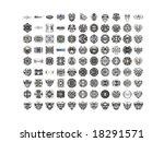 diamonds. big collection. | Shutterstock . vector #18291571