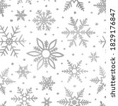 Snowflakes Silver Glitter....