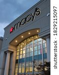 Small photo of Polaris, Ohio-USA June 15,2019: Macy's is an American department store chain founded in 1858 by Rowland Hussey Macy. The retailer provides clothing as well as house furnishings and bedding.
