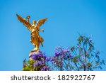 Golden Colored Angel Of...