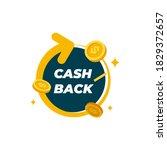 cashback loyalty program... | Shutterstock .eps vector #1829372657