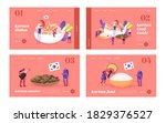 characters eating and cooking...   Shutterstock .eps vector #1829376527