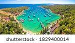 Aerial Panoramic View Of...