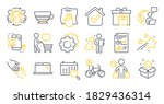 Set Of Line Icons  Such As...