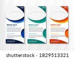 modern web banners. retail sale ... | Shutterstock .eps vector #1829513321