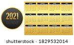 calendar design for 2021  ... | Shutterstock .eps vector #1829532014