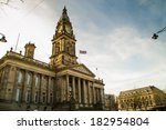 Bolton Town Hall In The Late...