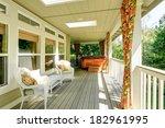 beautiful backyard deck with... | Shutterstock . vector #182961995