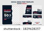 creative vector modern black... | Shutterstock .eps vector #1829628257