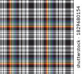 rainbow glen plaid textured...   Shutterstock .eps vector #1829680154