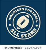 football design over blue... | Shutterstock .eps vector #182971934
