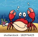 vector illustration of cartoon... | Shutterstock .eps vector #182976425