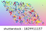 disco background. many random...   Shutterstock .eps vector #1829911157