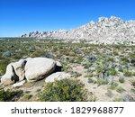 Granite Peak In Mojave National ...