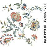 floral motif  illustration... | Shutterstock .eps vector #1830034844