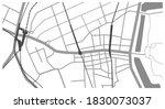 detailed map around tokyo... | Shutterstock .eps vector #1830073037