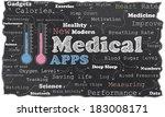 new modern medical revolution... | Shutterstock . vector #183008171