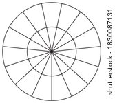 circle vector background. black ... | Shutterstock .eps vector #1830087131