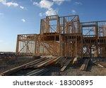 home under construction | Shutterstock . vector #18300895