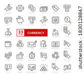 simple set of money related... | Shutterstock .eps vector #1830128867