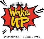 wake up hand drawn vector...   Shutterstock .eps vector #1830134951