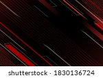 red and black geometric line... | Shutterstock .eps vector #1830136724