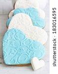 shortbread cookies in the shape ... | Shutterstock . vector #183016595