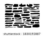 vector grungy paint brush... | Shutterstock .eps vector #1830192887