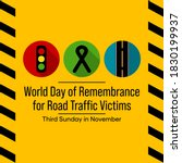 world day of remembrance for... | Shutterstock .eps vector #1830199937
