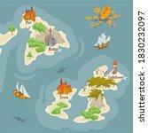 map builder illusrations for... | Shutterstock .eps vector #1830232097