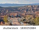 Bryce Canyon  Utah  Usa    May...