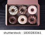 3d rendering of a box full of... | Shutterstock . vector #1830283361