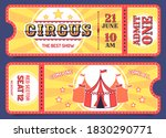 circus tickets. entrance ticket ... | Shutterstock . vector #1830290771