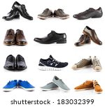 male shoes collection. men... | Shutterstock . vector #183032399