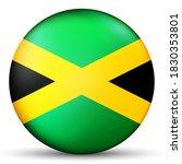 glass light ball with flag of... | Shutterstock .eps vector #1830353801