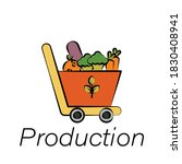 production hand draw icon....