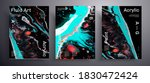 abstract liquid placard  fluid... | Shutterstock .eps vector #1830472424